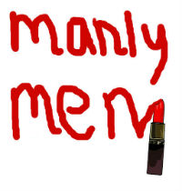 manly men lipstick
